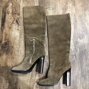 Lanvin for H&M Heeled Suede Boots